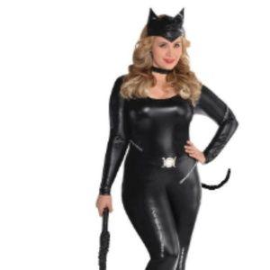 Sexy Cat Woman Plus Size Costume